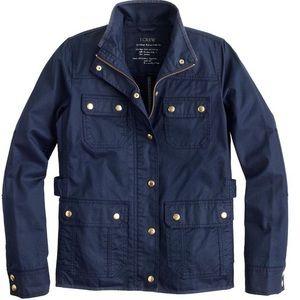 J Crew Field Jacket Petite